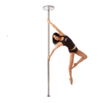 Pole Dancing X-POLE XPERT - Chrome - Static Spinning