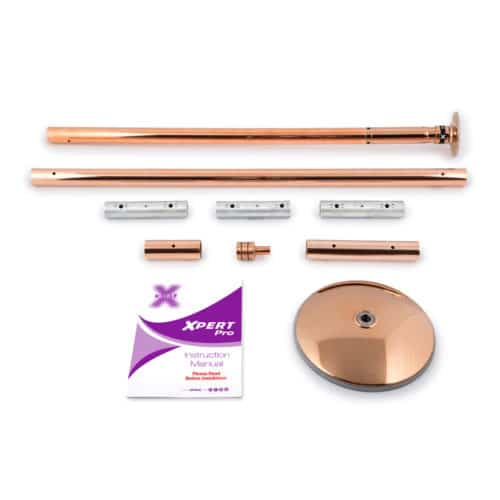 X-POLE XPERT Set PRO - Brass with X-Lock Mechanism