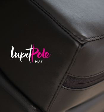 Lupit Pole Premium Crash Mat 4cm - Black