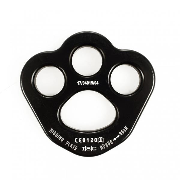 ISC Rigging Plate - Small-Black