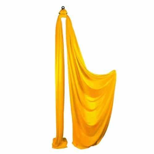 Medium Stretch Aerial Silks – Yellow