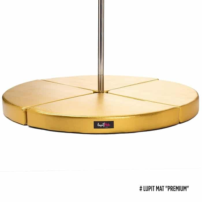 Lupit Pole Premium Crash Mat 12cm - Gold