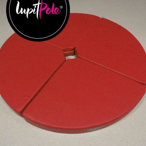 Lupit Pole Standard Crash Mat 8cm Red1