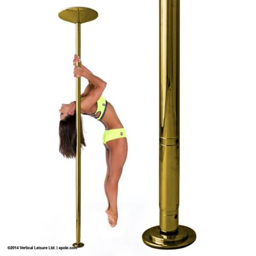 X-POLE XPERT Set - Brass- [Spinning & Static]