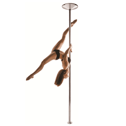 X-POLE XPERT Set - Stainless Steel - [Spinning & Static]
