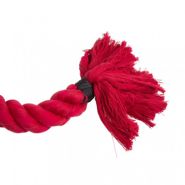 3 Ply Free Rope (Corde Lisse) With Steel Eye - Red