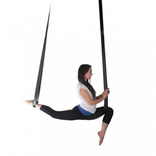 Long Loop Aerial Straps - Black