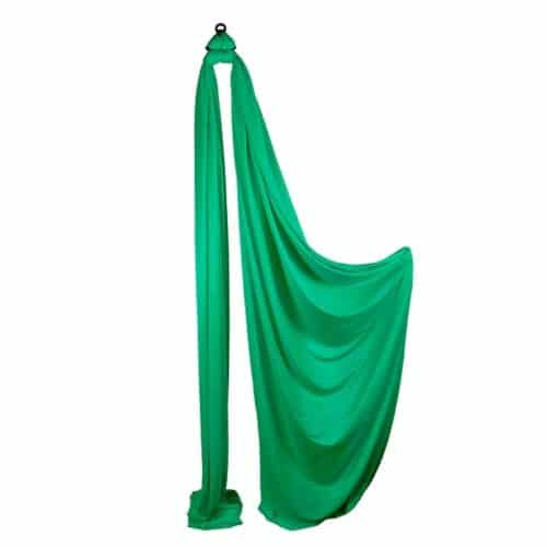 Medium Stretch Aerial Silks – Green