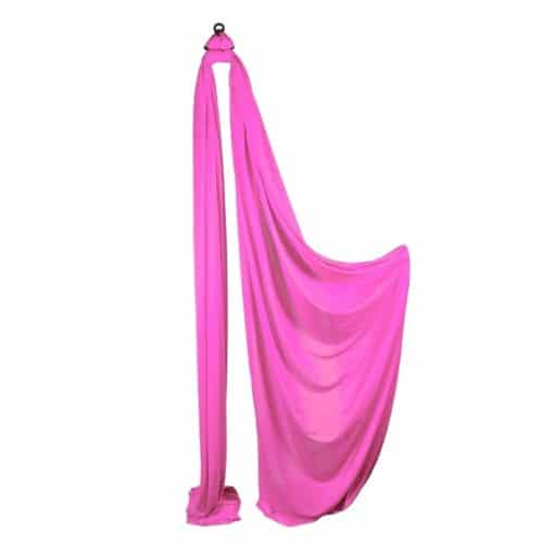 Medium Stretch Aerial Silks – Hot Pink