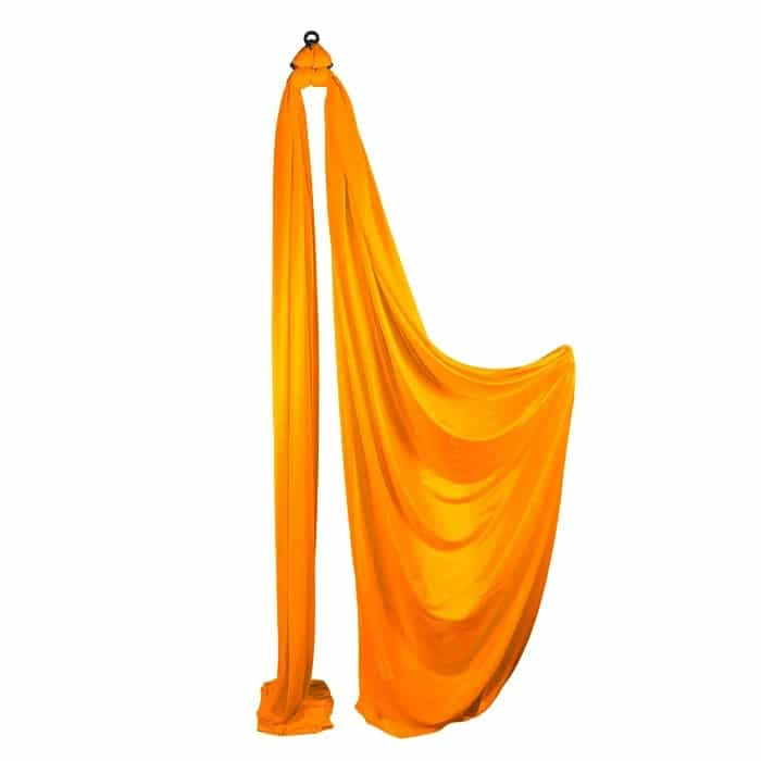 Medium Stretch Aerial Silks – Orange