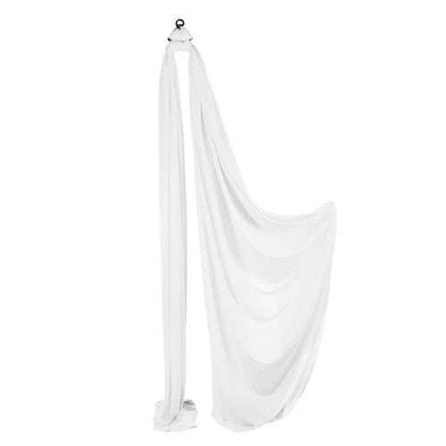 Medium Stretch Aerial Silks - White