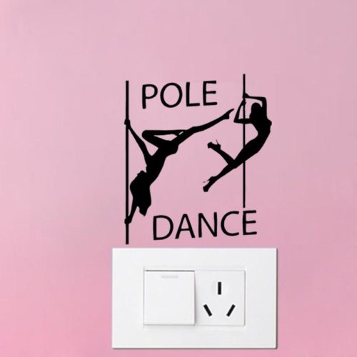 Pole Dancer Sticker for switch
