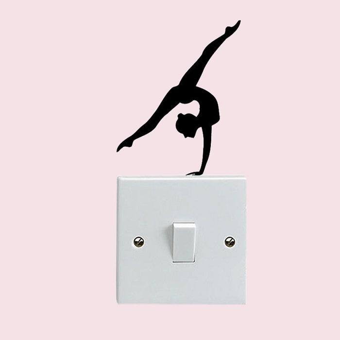 Handstand Split Sticker