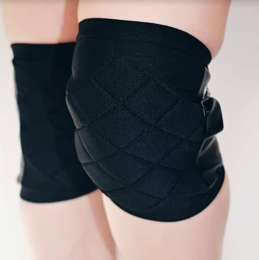 Quilted Knee Pads - Black