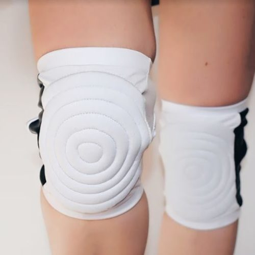 Circle Knee Pads - White