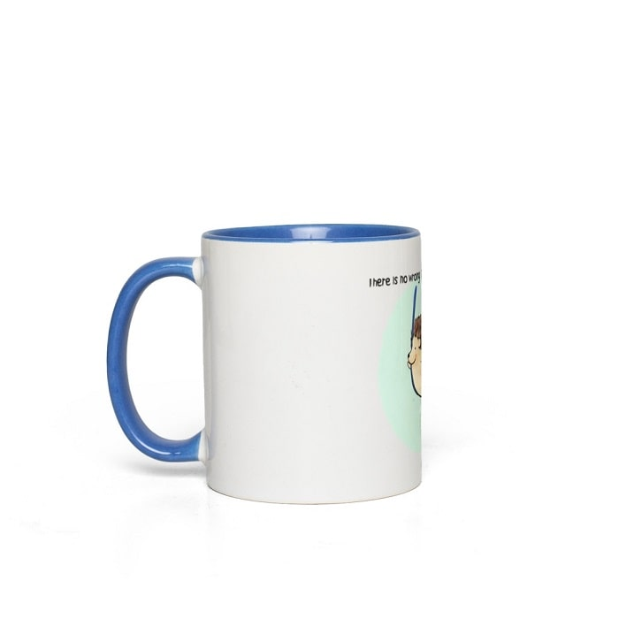 Aerial Silks Hedgehog Mug
