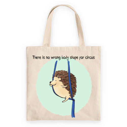 Tote Bag_Aerial Hedgehog