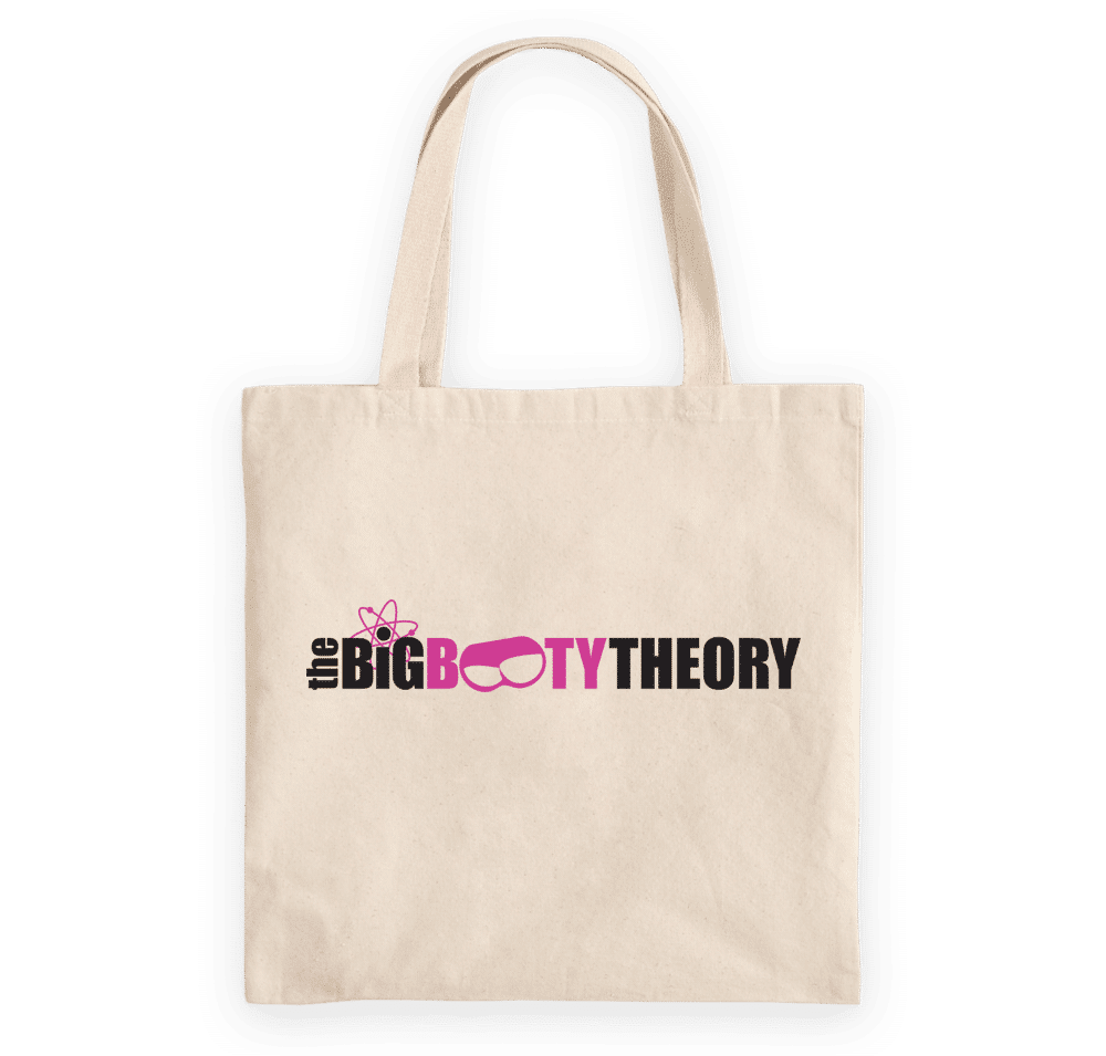Big Booty Theory Tote bag