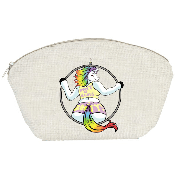 Rainbow Unicorn Accessory Pouch