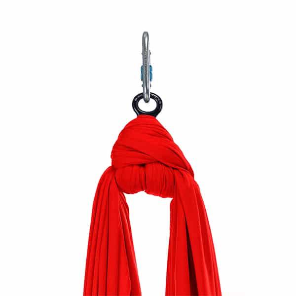 Aerial Silks set - 8m - Κόκκινο